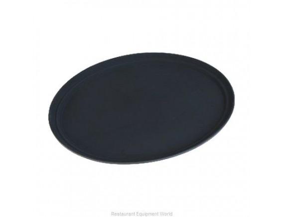 Поднос овальный, 49х63 см, коричневый, прорезиненный, Carlisle. (TB2500076)
