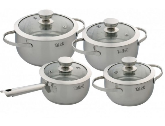 Набор посуды из нержавеющей стали, TALLER. (TR-1017)