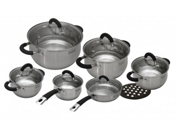 Набор посуды из нержавеющей стали, TALLER. (TR-1047)