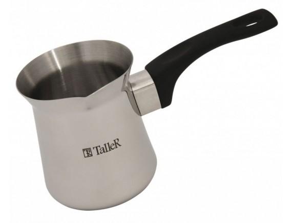 Турка для варки кофе, нержавеющая сталь 18/10, объем-0.7 л, TALLER. (TR-1334)