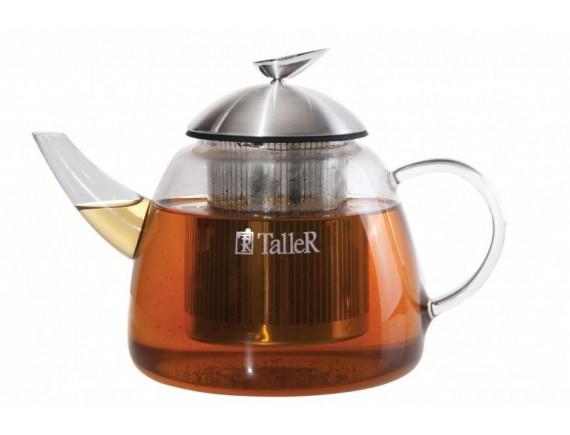 Чайник заварочный, обьем-1,2 л, TALLER. (TR-1348)