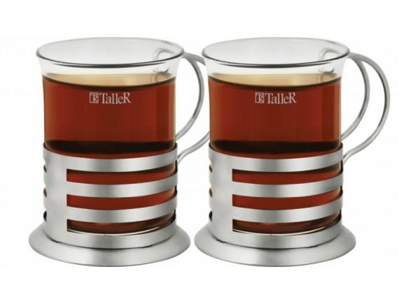 Чайная пара, обьем-200 мл, TALLER. (TR-2308)