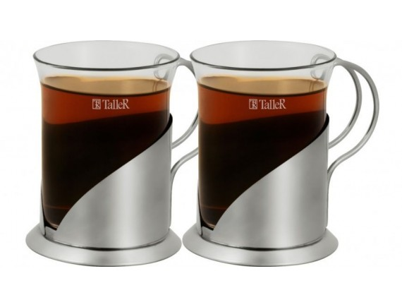 Чайная пара, обьем-200 мл, TALLER. (TR-2309)