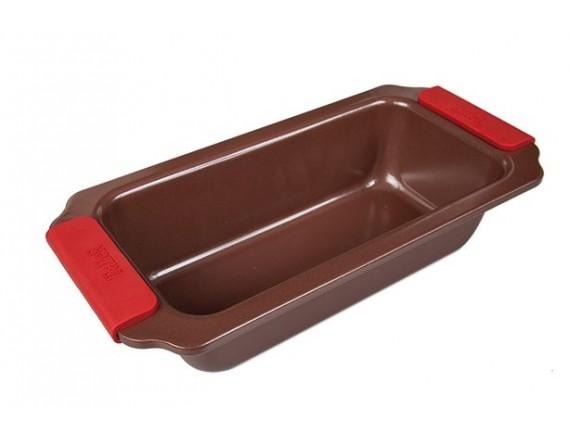 Форма для выпечки прямоугольная, 28*14*7, материал-углеродистая сталь, покрытие-антипригарное керамическое