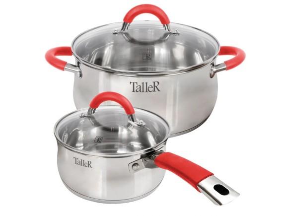 Набор посуды из нержавеющей стали, TALLER. (TR-7151)