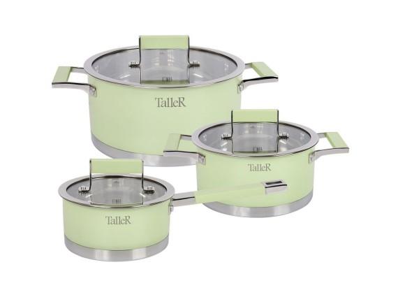 Набор посуды из нержавеющей стали, TALLER. (TR-7170)