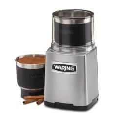 Гриндер Waring WRWSG60E, Мощность двигателя 1 л.с. Скорость двигателя 20 000 об/мин. Объем чаши, л: 0,71   0,7л сухой помол  0,355л мокрый помол В комплекте 2 чаши. (WRWSG60E)