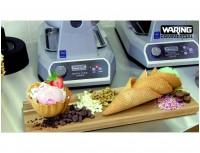 Вафельница Waring WRWWCM180E для конусных вафель, Тяжелый литой корпус Тройное антиприганое покрытие. Встроенные элементы нагрева для точного контроля температуры. (WRWWCM180E)