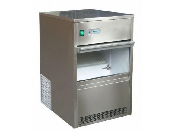 Льдогенератор, производительность до 26 кг/сут, форма льда-пальчик (28x40мм), корзина на 6 кг, VIATTO by Forcool. (ZB26)