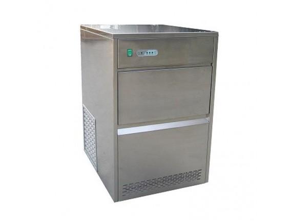 Льдогенератор, производительность до 50 кг/сут, форма льда-пальчик (28x40мм), корзина на 10 кг, VIATTO by Forcool. (ZB50)